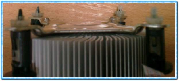 Процессорный вентилятор - повреждение креплений