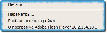 flash player от Adobe версии 10.2