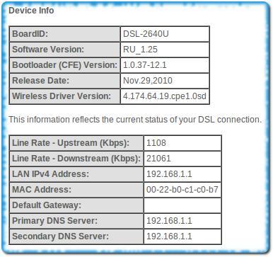 ADSL модем работает в режиме бриджа для ОГО!
