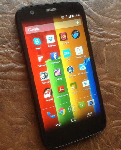 Motorola Moto G - мой первый андроид смартфон